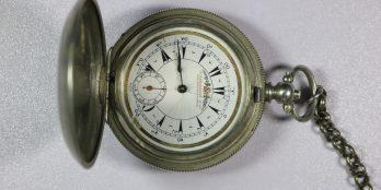 Ασημένιο ρολόι τσέπης SERKISOFF κατασκευασμένο για την Τούρκικη αγορά έτος κατασκευής 1880