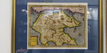 Χαλκογραφικός Χάρτης της Πελοποννήσου Gerardus Mercator 1630