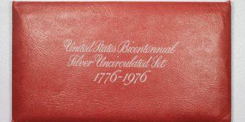 Αμερική 1976  BICENTENNIAL Ασημένιο Ακυκλοφόρητο σετ.
