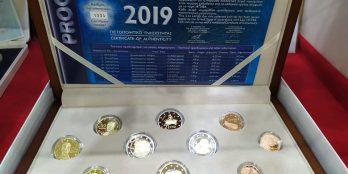 Ελλάδα – Επίσημη σειρά PROOF 2019 (10 νομίσματα)