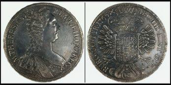 Austria María Teresa Thaler 1765 Burgau. (Günzburg). SC/G. (Km-15). (Dav-114)