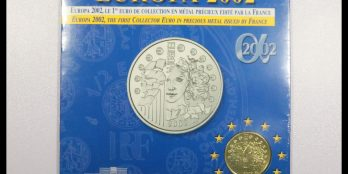 France Europa Silver 2002 1 euro