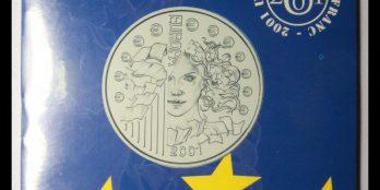 France Europa Silver 2001 1 euro