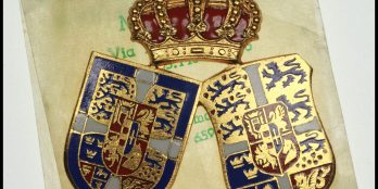 Greece Royal wedding 1964 Commemorative Badge
