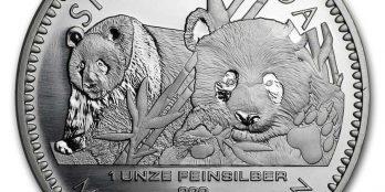 2016 China 1 oz Silver Panda BU (Berlin Mint)