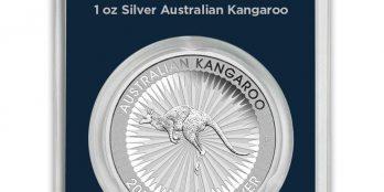 2017 Australia 1 oz Silver Kangaroo BU Apmex Mint Direct